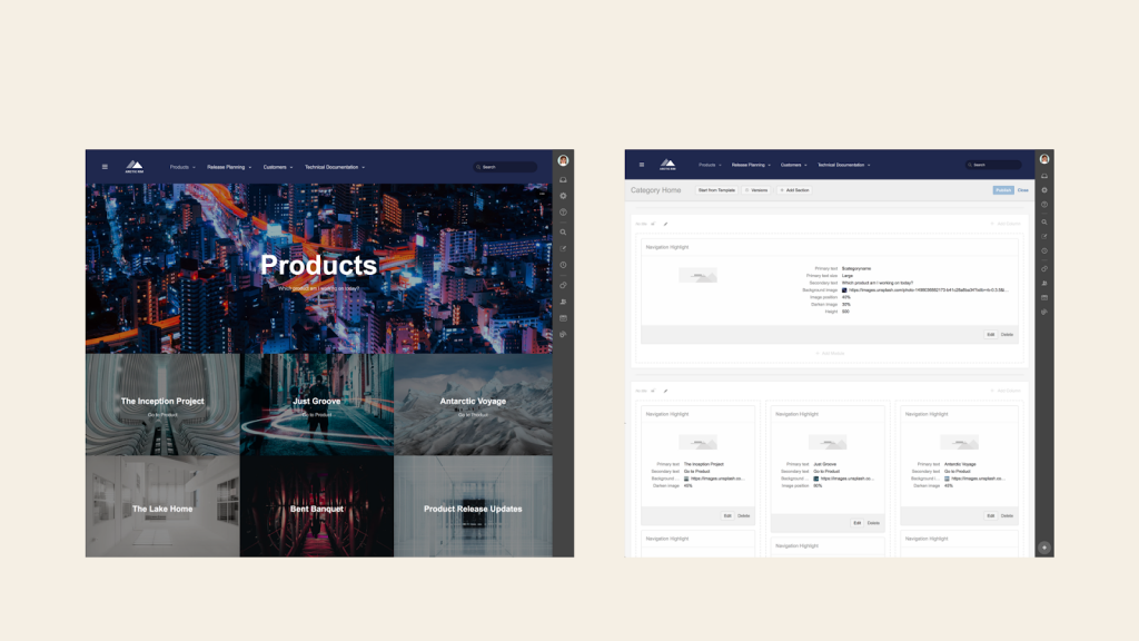 Customize-layout-example-Themed-Confluence-with-Refined