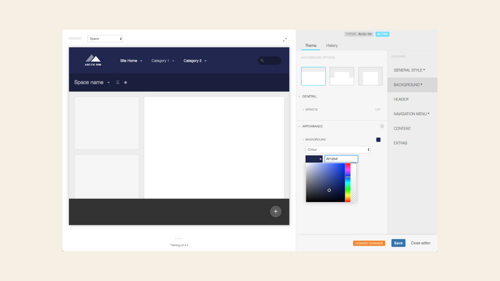 Theme-editor-Arctic-Rim-Branded-Confluence-with-Refined